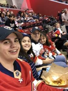 Victor attended Florida Panthers vs. Detroit Red Wings - NHL on Nov 2nd 2019 via VetTix