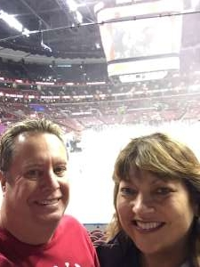 Allan attended Florida Panthers vs. Detroit Red Wings - NHL on Nov 2nd 2019 via VetTix