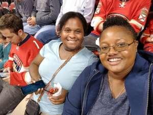 Natalie attended Florida Panthers vs. Detroit Red Wings - NHL on Nov 2nd 2019 via VetTix