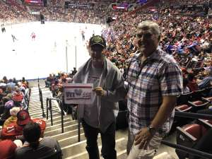 Bruce attended Florida Panthers vs. Detroit Red Wings - NHL on Nov 2nd 2019 via VetTix