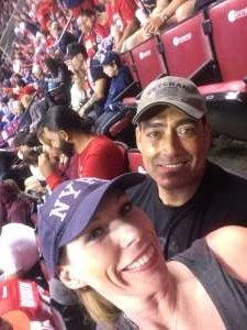 Francis attended Florida Panthers vs. Detroit Red Wings - NHL on Nov 2nd 2019 via VetTix