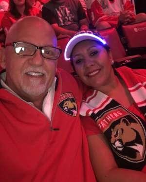 Ed attended Florida Panthers vs. Detroit Red Wings - NHL on Nov 2nd 2019 via VetTix