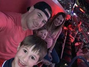 David attended Florida Panthers vs. Detroit Red Wings - NHL on Nov 2nd 2019 via VetTix