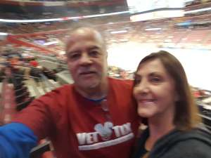 Gregory attended Florida Panthers vs. Detroit Red Wings - NHL on Nov 2nd 2019 via VetTix