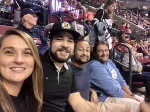 Johanel attended Florida Panthers vs. Detroit Red Wings - NHL on Nov 2nd 2019 via VetTix