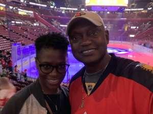Martin attended Florida Panthers vs. Detroit Red Wings - NHL on Nov 2nd 2019 via VetTix