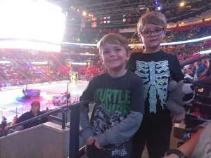 Martina attended Florida Panthers vs. Detroit Red Wings - NHL on Nov 2nd 2019 via VetTix