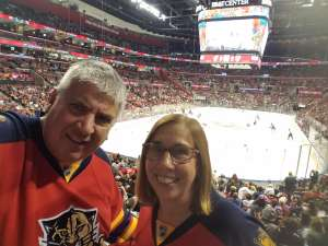 Brent attended Florida Panthers vs. Detroit Red Wings - NHL on Nov 2nd 2019 via VetTix