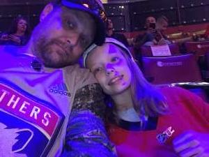 Jon attended Florida Panthers vs. Detroit Red Wings - NHL on Nov 2nd 2019 via VetTix