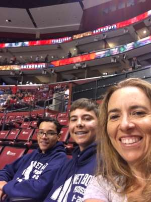 Tania attended Florida Panthers vs. Detroit Red Wings - NHL on Nov 2nd 2019 via VetTix