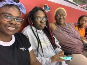 Amy attended Florida Panthers vs. Detroit Red Wings - NHL on Nov 2nd 2019 via VetTix