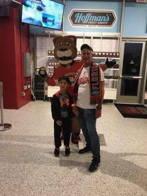 Patrick attended Florida Panthers vs. Detroit Red Wings - NHL on Nov 2nd 2019 via VetTix
