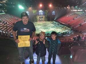 Carl attended Jurassic World Live Tour on Nov 21st 2019 via VetTix