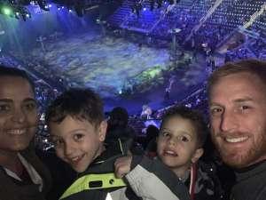 Chris attended Jurassic World Live Tour on Nov 21st 2019 via VetTix