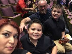 Gordon attended Nick Jr. Live! Move to the Music - Presented by Vstar Entertainment on Nov 6th 2019 via VetTix