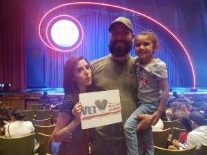 Bryan attended Nick Jr. Live! Move to the Music - Presented by Vstar Entertainment on Nov 6th 2019 via VetTix