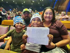 Gloria attended Nick Jr. Live! Move to the Music - Presented by Vstar Entertainment on Nov 6th 2019 via VetTix