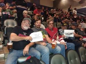 MARK attended Tucson Roadrunners vs. Stockton Heat - AHL on Nov 9th 2019 via VetTix