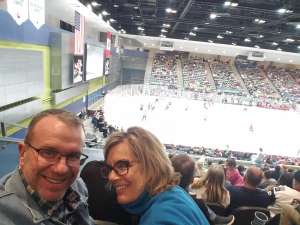 Harold attended Tucson Roadrunners vs. Stockton Heat - AHL on Nov 9th 2019 via VetTix