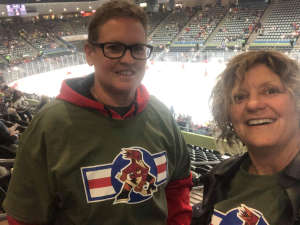 Teresa attended Tucson Roadrunners vs. Stockton Heat - AHL on Nov 9th 2019 via VetTix