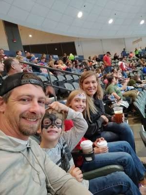 Alexander attended Tucson Roadrunners vs. Stockton Heat - AHL on Nov 9th 2019 via VetTix