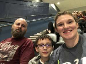 Virginia attended Tucson Roadrunners vs. Stockton Heat - AHL on Nov 9th 2019 via VetTix