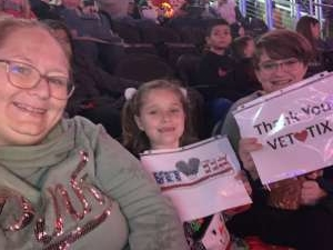 Melissa attended Jurassic World Live Tour at Sprint Center on Nov 29th 2019 via VetTix