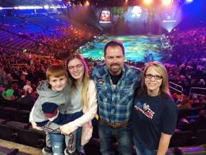 Charles attended Jurassic World Live Tour at Sprint Center on Nov 29th 2019 via VetTix