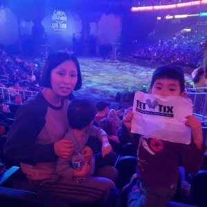 Min attended Jurassic World Live Tour at Sprint Center on Nov 29th 2019 via VetTix