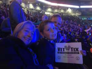 Eva attended Jurassic World Live Tour at Sprint Center on Nov 29th 2019 via VetTix