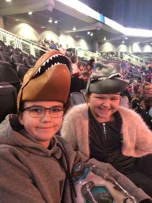 Kurtis attended Jurassic World Live Tour at Sprint Center on Nov 29th 2019 via VetTix