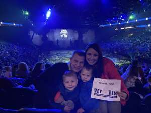 Monroe's  attended Jurassic World Live Tour at Sprint Center on Nov 29th 2019 via VetTix