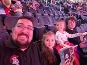 Andre attended Jurassic World Live Tour at Sprint Center on Nov 29th 2019 via VetTix