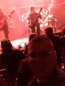 Joshua attended Morbid Angel with Watain and Incantation on Dec 5th 2019 via VetTix