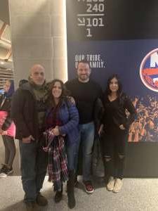 Greg attended New York Islanders vs. Tampa Bay Lightning - NHL ** Military Appreciation Night ** on Nov 1st 2019 via VetTix
