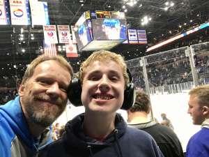 Christopher attended New York Islanders vs. Tampa Bay Lightning - NHL ** Military Appreciation Night ** on Nov 1st 2019 via VetTix