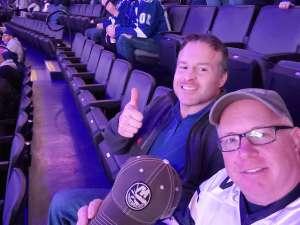 david attended New York Islanders vs. Tampa Bay Lightning - NHL ** Military Appreciation Night ** on Nov 1st 2019 via VetTix