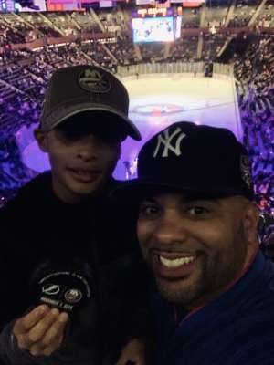 Edward attended New York Islanders vs. Tampa Bay Lightning - NHL ** Military Appreciation Night ** on Nov 1st 2019 via VetTix