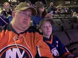 Matthew attended New York Islanders vs. Tampa Bay Lightning - NHL ** Military Appreciation Night ** on Nov 1st 2019 via VetTix