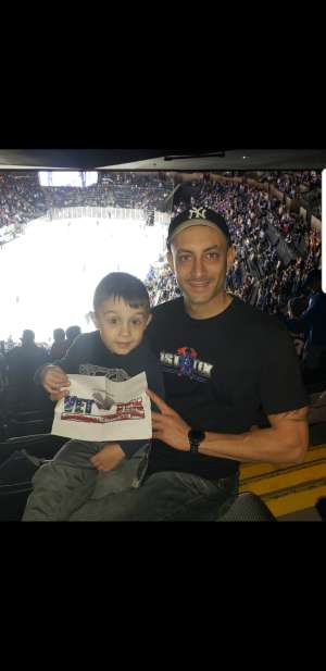 Click To Read More Feedback from New York Islanders vs. Tampa Bay Lightning - NHL ** Military Appreciation Night **