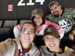 Jesse attended New York Islanders vs. Tampa Bay Lightning - NHL ** Military Appreciation Night ** on Nov 1st 2019 via VetTix