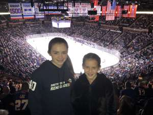 JSD attended New York Islanders vs. Tampa Bay Lightning - NHL ** Military Appreciation Night ** on Nov 1st 2019 via VetTix