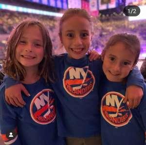 Joseph attended New York Islanders vs. Tampa Bay Lightning - NHL ** Military Appreciation Night ** on Nov 1st 2019 via VetTix