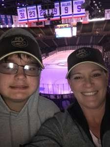 Melissa attended New York Islanders vs. Tampa Bay Lightning - NHL ** Military Appreciation Night ** on Nov 1st 2019 via VetTix
