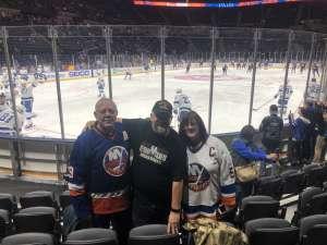 Darrell attended New York Islanders vs. Tampa Bay Lightning - NHL ** Military Appreciation Night ** on Nov 1st 2019 via VetTix