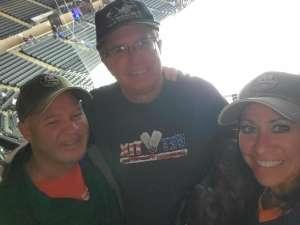 Jeff attended New York Islanders vs. Tampa Bay Lightning - NHL ** Military Appreciation Night ** on Nov 1st 2019 via VetTix