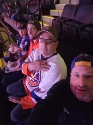 Raymond attended New York Islanders vs. Tampa Bay Lightning - NHL ** Military Appreciation Night ** on Nov 1st 2019 via VetTix