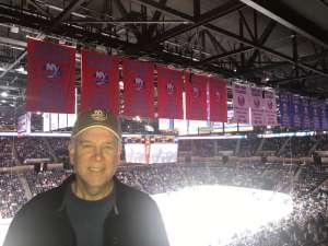 Glenn attended New York Islanders vs. Tampa Bay Lightning - NHL ** Military Appreciation Night ** on Nov 1st 2019 via VetTix