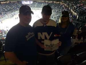 Todd attended New York Islanders vs. Tampa Bay Lightning - NHL ** Military Appreciation Night ** on Nov 1st 2019 via VetTix