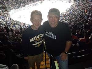 Timothy attended New York Islanders vs. Tampa Bay Lightning - NHL ** Military Appreciation Night ** on Nov 1st 2019 via VetTix